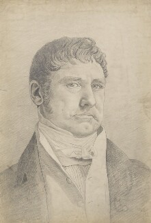 Sir William Gell, by Cornelius Varley - NPG 5086