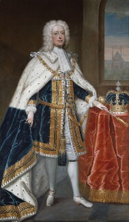 King George II, studio of Charles Jervas, circa 1727 - NPG  - © National Portrait Gallery, London