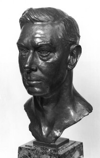 King George VI, by Sir William Reid Dick, 1959, based on a work of 1945 - NPG 4114 - Photograph © National Portrait Gallery, London