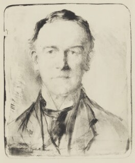 Sir Edward German, by Flora Lion - NPG 3951