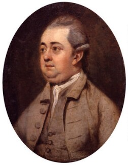 Edward Gibbon, by Henry Walton - NPG 1443