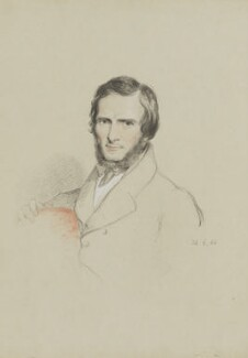 John Gibson, by William Brockedon - NPG 2515(96)