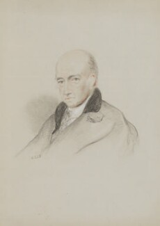 Davies Gilbert, by William Brockedon - NPG 2515(88)