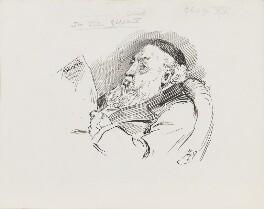 Sir John Gilbert, by Harry Furniss - NPG 3573