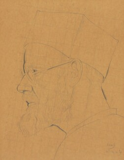 Eric Gill, by Eric Gill, 1927 - NPG  - © National Portrait Gallery, London