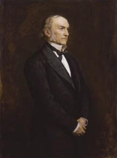 William Ewart Gladstone, by Sir John Everett Millais, 1st Bt - NPG 3637