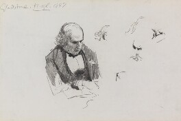 William Ewart Gladstone, by Sydney Prior Hall - NPG 2308