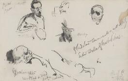 William Ewart Gladstone; Timothy Michael Healy, by Sydney Prior Hall,  - NPG 2319 - © National Portrait Gallery, London