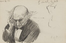 William Ewart Gladstone, by Sydney Prior Hall - NPG 2324