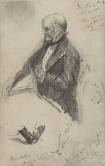 William Ewart Gladstone, by Sydney Prior Hall - NPG 2325