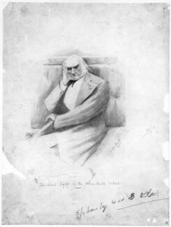 William Ewart Gladstone, by George Roland Halkett - NPG 3183