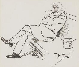 William Ewart Gladstone, by Philip William ('Phil') May, 1893 - NPG 2819 - © National Portrait Gallery, London
