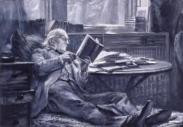William Ewart Gladstone, by Sydney Prior Hall, circa 1890s - NPG 2227 - © National Portrait Gallery, London