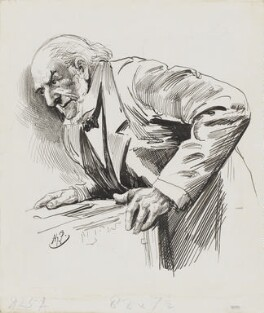 William Ewart Gladstone, by Harry Furniss - NPG 3359