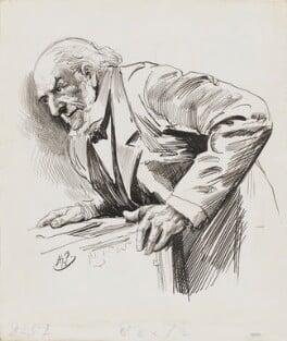 William Ewart Gladstone, by Harry Furniss, 1880s-1900s - NPG 3359 - © National Portrait Gallery, London