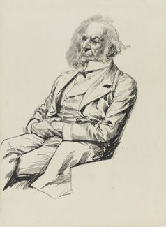 William Ewart Gladstone, by Harry Furniss - NPG 3361