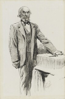 William Ewart Gladstone, by Harry Furniss - NPG 3364