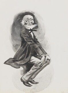 William Ewart Gladstone, by Harry Furniss - NPG 3369