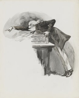 William Ewart Gladstone, by Harry Furniss - NPG 3371