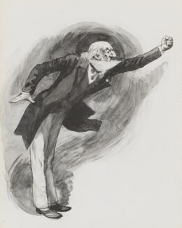 William Ewart Gladstone, by Harry Furniss - NPG 3373