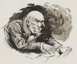 William Ewart Gladstone, by Harry Furniss - NPG 3380