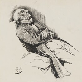 William Ewart Gladstone, by Harry Furniss, 1880s-1900s - NPG 3381 - © National Portrait Gallery, London