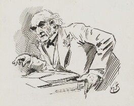 William Ewart Gladstone, by Harry Furniss - NPG 3382