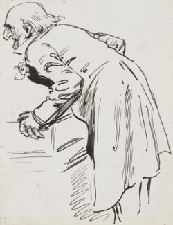 William Ewart Gladstone, by Harry Furniss - NPG 3384