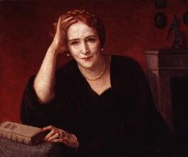 Elinor Glyn, by Arnold Mason, 1942 - NPG 4283 - © estate of Arnold Mason / National Portrait Gallery, London