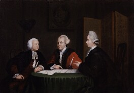 John Glynn, John Wilkes and John Horne Tooke, after Richard Houston - NPG 1944