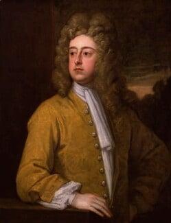 Francis Godolphin, 2nd Earl of Godolphin, by Sir Godfrey Kneller, Bt, circa 1712-1714 - NPG 3209 - © National Portrait Gallery, London