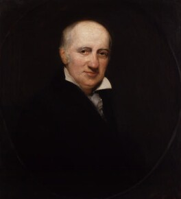 William Godwin, by Henry William Pickersgill - NPG 411