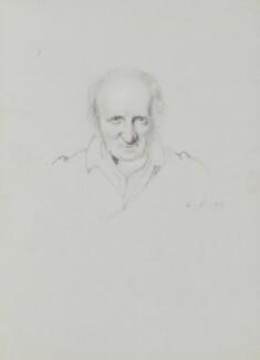 William Godwin, by William Brockedon, 1832 - NPG 2515(29) - © National Portrait Gallery, London