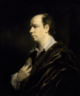 Oliver Goldsmith, by Sir Joshua Reynolds, circa 1770 or after -NPG 130 - © National Portrait Gallery, London