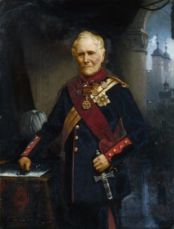 Sir William Maynard Gomm, by James Bowles - NPG 1071