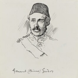 Charles George Gordon, by Harry Furniss - NPG 3576