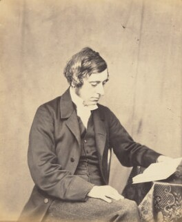 Osborne Gordon, by Lewis Carroll - NPG P7(5)