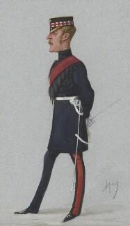 Sir William Alexander Gordon-Cumming, 4th Bt, by Carlo Pellegrini - NPG 4631