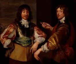 Mountjoy Blount, 1st Earl of Newport; George Goring, Baron Goring, after Sir Anthony van Dyck, based on a work of 1635 - NPG 762 - © National Portrait Gallery, London