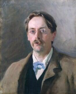 Sir Edmund William Gosse, by John Singer Sargent, 1886 - NPG 2205 - © National Portrait Gallery, London