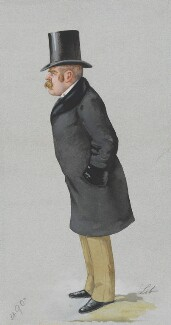 Sir Francis Carruthers Gould ('F.C.G.'), by Liborio Prosperi ('Lib') - NPG 3278
