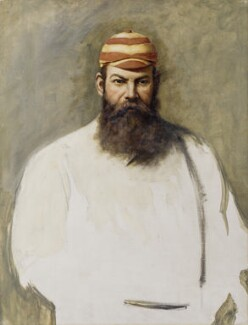 W.G. Grace, attributed to Archibald John Stuart Wortley - NPG 2112