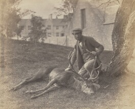 John Grant & the same Stag, by George Washington Wilson - NPG P22(13)