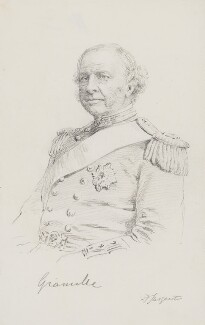 Granville George Leveson-Gower, 2nd Earl Granville, by Frederick Sargent - NPG 3809