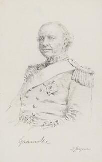 Granville George Leveson-Gower, 2nd Earl Granville, by Frederick Sargent - NPG 3809