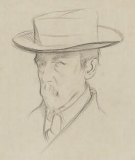 Walter Greaves, by William Rothenstein - NPG 3179