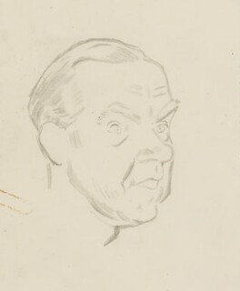 Graham Greene, by Sir David Low - NPG 4529(147)