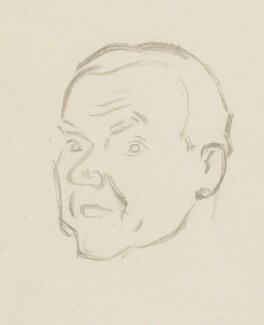 Graham Greene, by Sir David Low - NPG 4529(146)