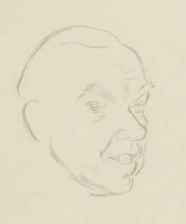 Graham Greene, by Sir David Low - NPG 4529(149)