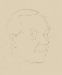 Graham Greene, by Sir David Low - NPG 4529(150)
